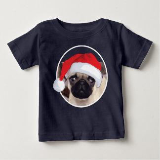 Barro amasado del navidad - camiseta fina del