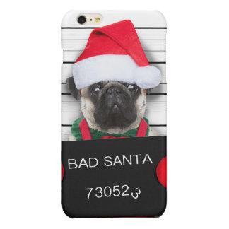 Barro amasado del navidad - perro del mugshot -