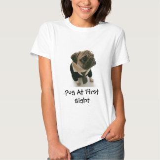 Barro amasado en la primera vista camiseta