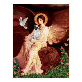 Barro amasado H (cervatillo) - ángel asentado Postal
