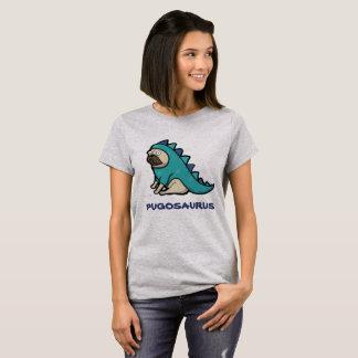 Barro amasado lindo 'Pugosaurus del dibujo animado Camiseta