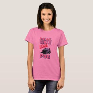 Barro amasado real del amor de los chicas camiseta