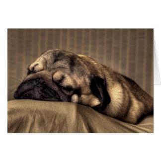 Barro amasado - sueño dulce tarjeta pequeña