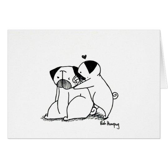 Barros amasados del amor tarjeta de felicitación