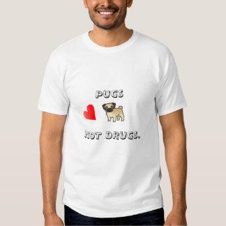 Barros amasados ninguna camiseta de las drogas