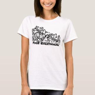 Barros amasados por todas partes camiseta