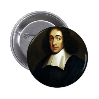 Baruch Spinoza Chapa Redonda De 5 Cm
