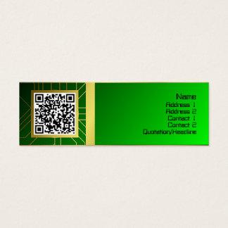Base de la energía resistente tarjeta de visita mini