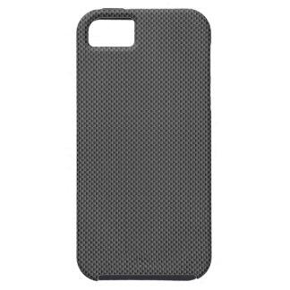 Base de la fibra de carbono de Kevlar iPhone 5 Case-Mate Protectores