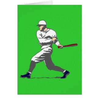 baseball player tarjeta
