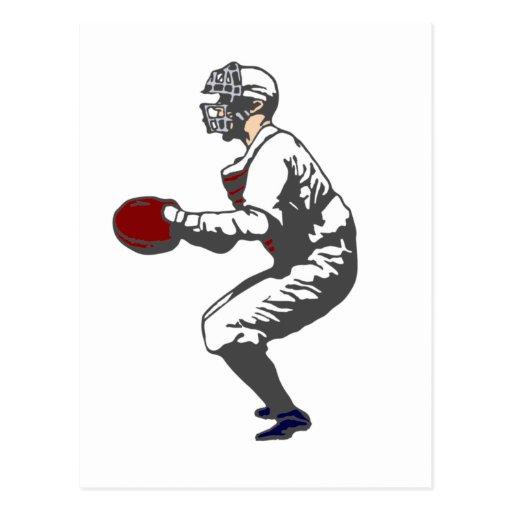 baseball player postales