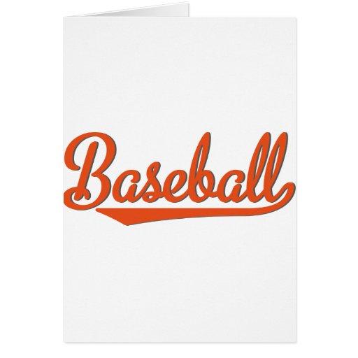 baseball tarjetón