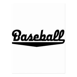 baseball tarjeta postal