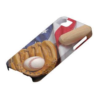 Baseball the USA iPhone 5 Carcasa