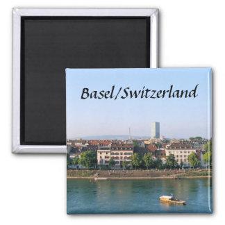 Basilea/Suiza - imán del recuerdo