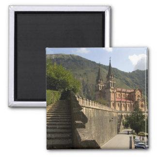 Basilica de Covadonga, España del noroeste Iman