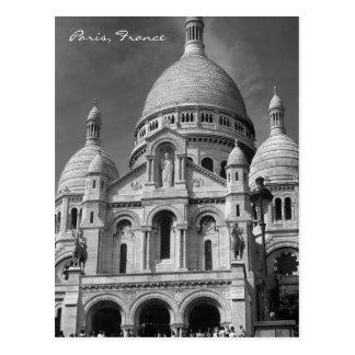 Basílica de la postal de Sacré-Cœur París Francia
