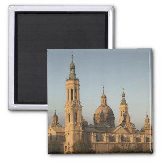 Basilica de Nuestra Senora de Pilar, el río Ebro Imán De Nevera