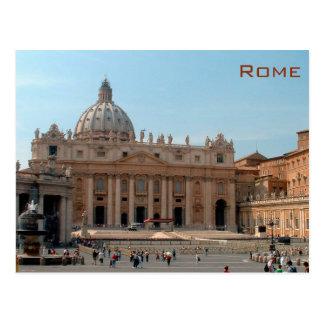 Basílica de Roma - de San Pedro Postal