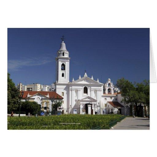 Basílica Nuestra Senora del Pilar en Recoleta 2 Tarjeta