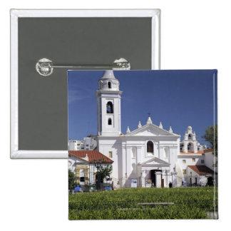 Basílica Nuestra Senora del Pilar en Recoleta Chapa Cuadrada 5 Cm