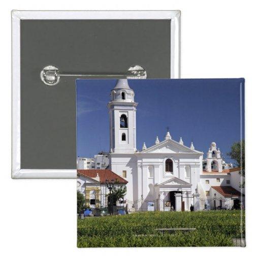 Basílica Nuestra Senora del Pilar en Recoleta Pin