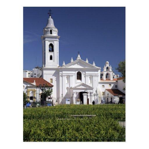 Basílica Nuestra Senora del Pilar en Recoleta Tarjeta Postal