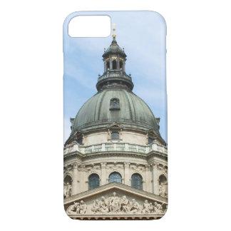 Basílica y ClockTower del St Stephens en Budapest Funda iPhone 7