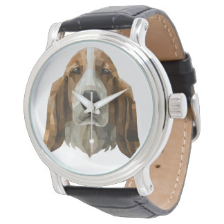 Basset Hound Reloj De Pulsera