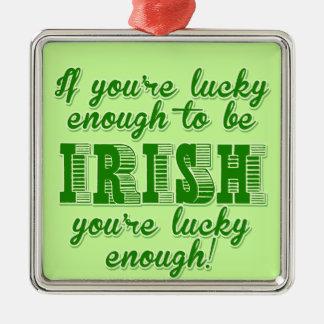 Bastante afortunado ser irlandés ornato