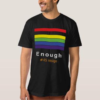Bastante camiseta del arco iris