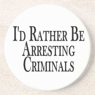 Bastante criminales de la detención posavaso para bebida