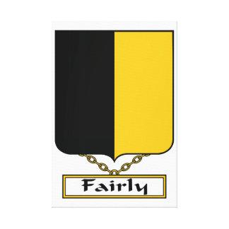 Bastante escudo de la familia lona estirada galerías