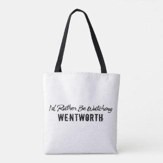 bastante reloj wentworth bolso de tela