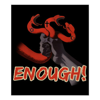 ¡BASTANTES!!! poster ateo