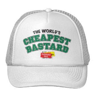 Bastardo barato gorras