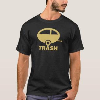 Basura del remolque camiseta