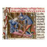 Batalla crónicas de Gómez Martin El Cid 'de Postal