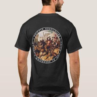 Batalla de Hospitaller de los caballeros en la Camiseta
