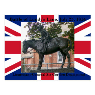 Batalla de la postal del Equestrian del carril de