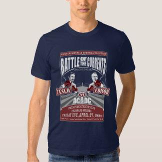 Batalla de las corrientes camisetas