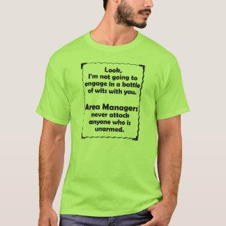 Batalla de los encargados del área de los ingenios camiseta