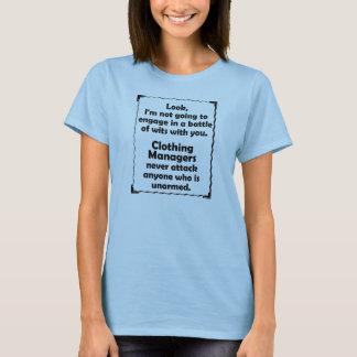 Batalla del encargado de la ropa de los ingenios camiseta