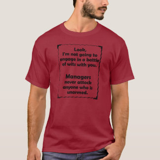 Batalla del encargado de los ingenios camiseta