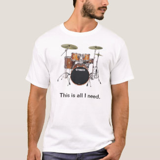 Batería #1 camiseta