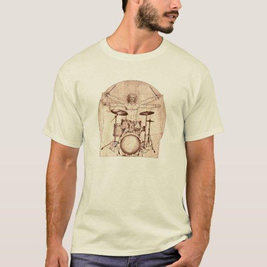 Batería de Vitruvian Camiseta
