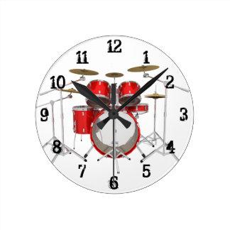 Batería: Reloj de pared