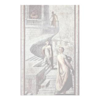 Bathsheba va a David de Salviati Francisco Papelería