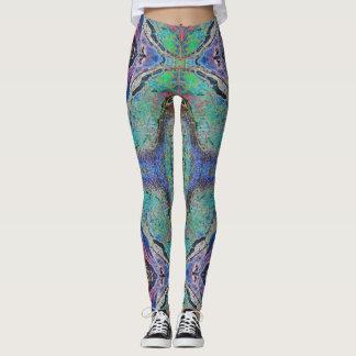 Batik 1 de la ágata - polainas leggings