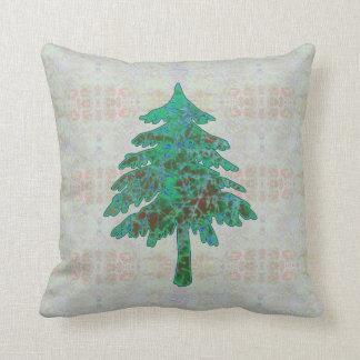Batik del árbol 1 almohada